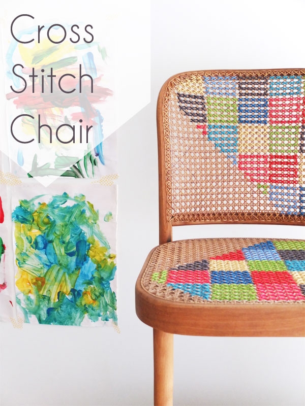 How To Cross Stitch Chair