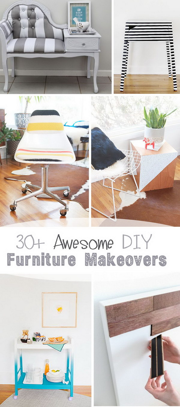 Awesome DIY Furniture Makeovers!