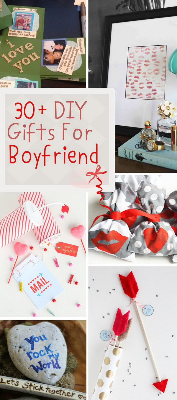 Diy gifts for boyfriend the image kid for Simple gift for a boyfriend