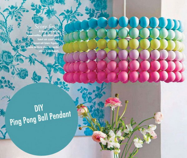Ping Pong Ball Shade. See more