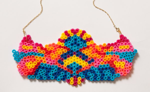 DIY Hama Bead Necklace