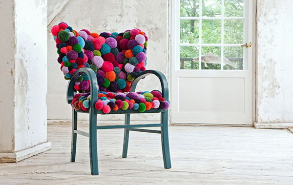 Pom Pom Chair. See more details