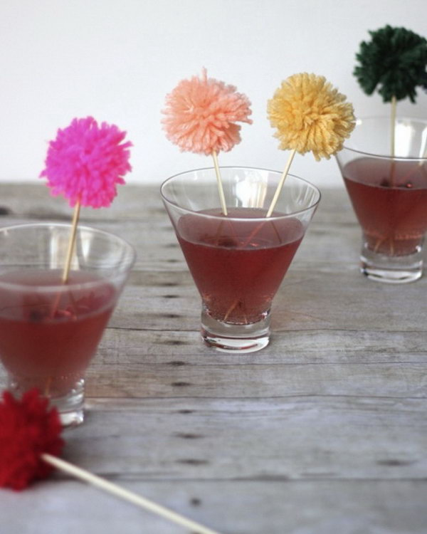 Swizzle Sticks. See how