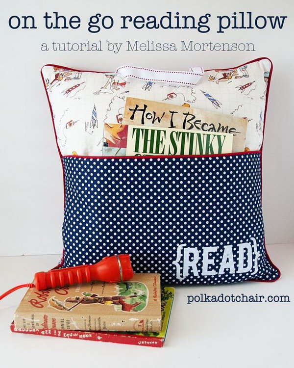On the Go Reading Pillow