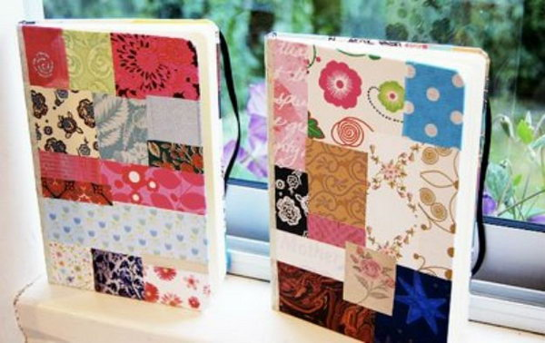 Patchwork Notebook Cover