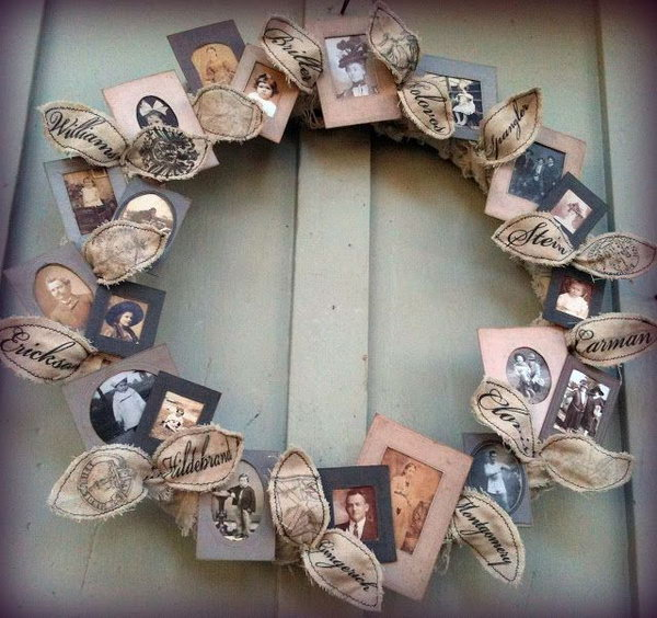 Picture Ideas: 40 Creative Family Photo Display Ideas