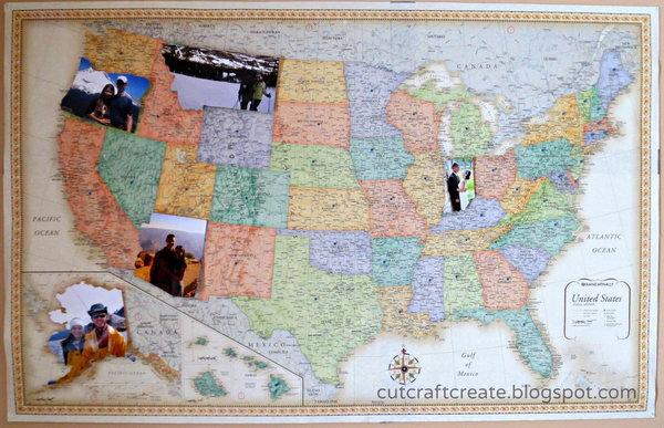 Personalized Photo Map.