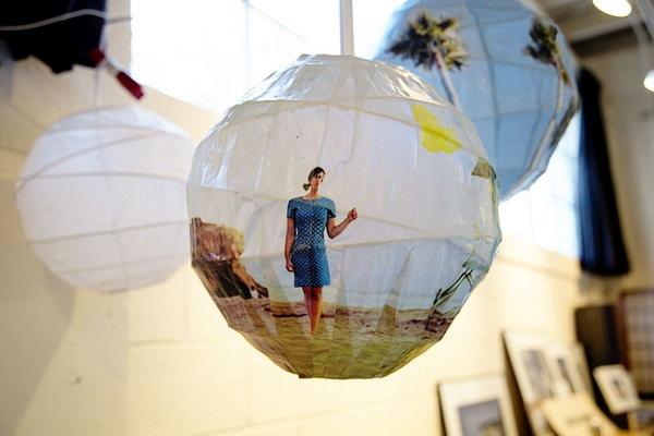 DIY Glowing Photo Spheres.