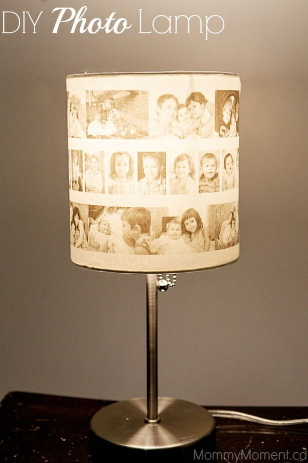 DIY Photo Lamp.