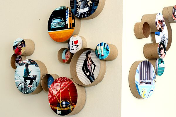 DIY Cardboard Ring Frames.