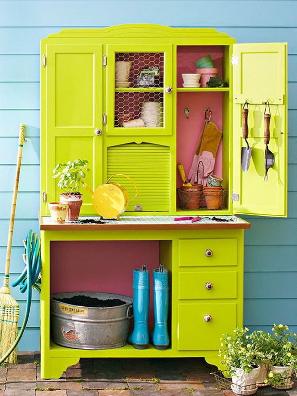 20 budget friendly garden storage ideas noted list