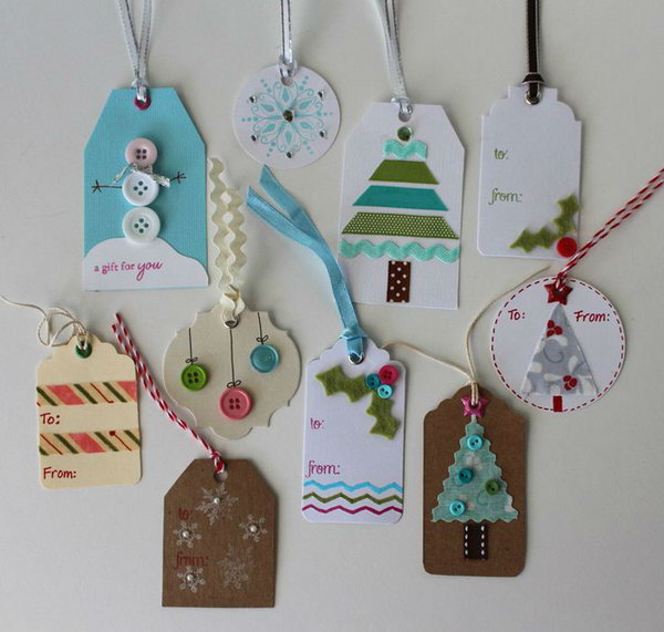 Cute Christmas Gift Tags.