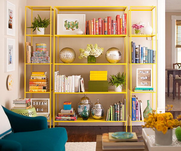 Brilliant Shelving Renovation. See how