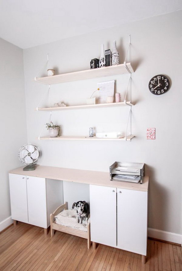 IKEA Fauxdenza Hack for More Closed Storage. Get the tutorial