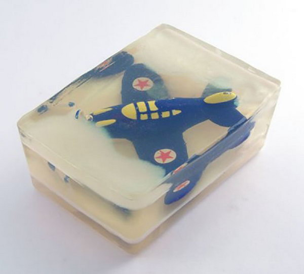 Rescue the Airplane Soap for the Reluctant to Wash Hands Little Ones. If your kids are reluctant to wash their hands, this will not be a problem when they have to rescue their loved toys such as an airplane with good hygiene.