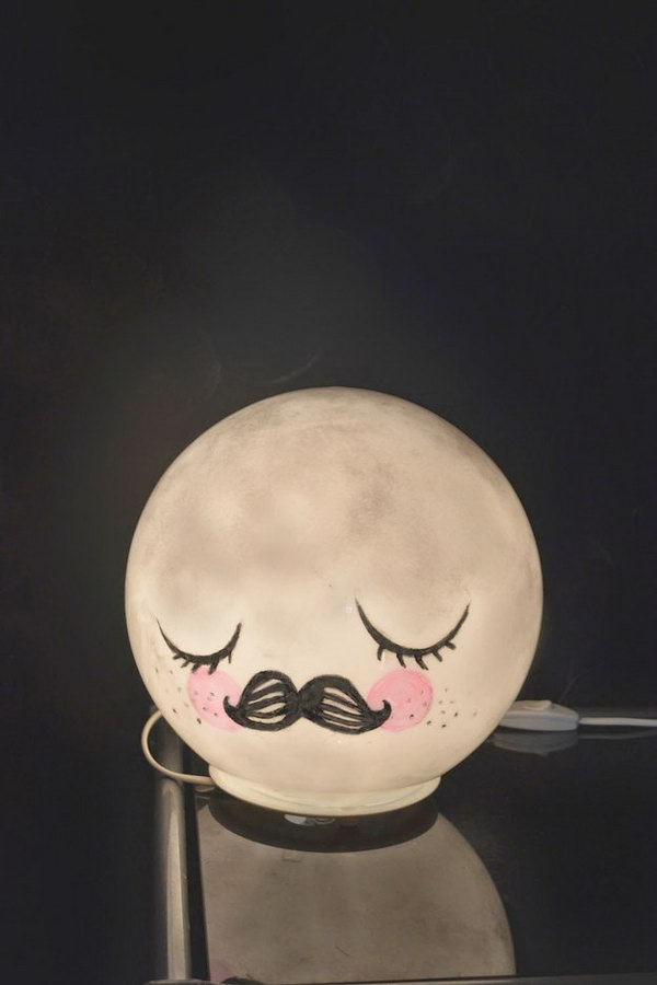 Cute Moon Lamp.