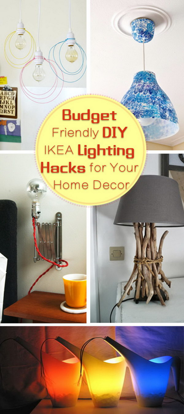 Budget Friendly DIY IKEA Lighting Hacks for Your Home Decor!