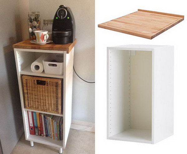 Small Kitchen Island or Workspace. Instructions