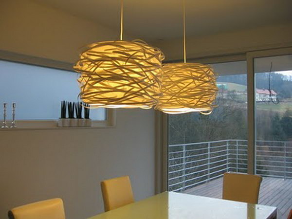 Hanging Nest Dinning Room Lights. Instructions
