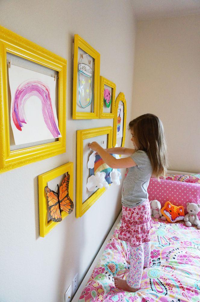 Kids' Artwork Showcasing Solution.