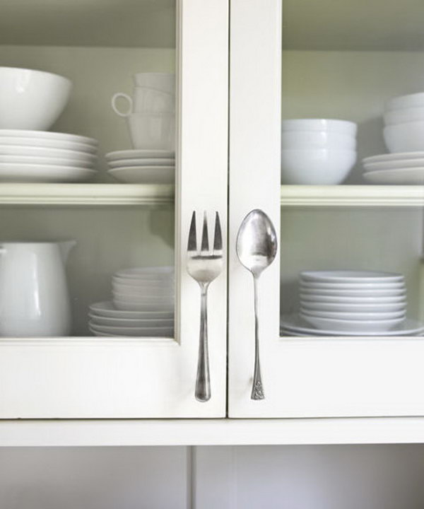 Fork & Spoon Door Pulls.