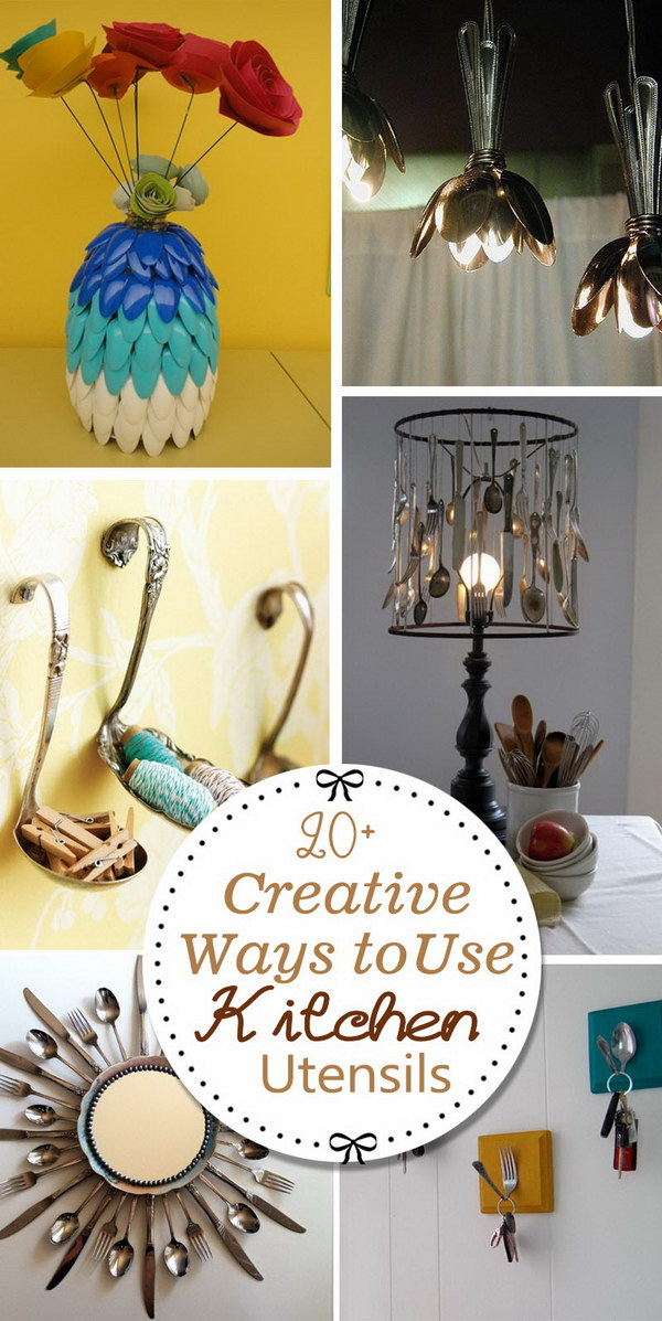 Creative Ways to Use Kitchen Utensils!