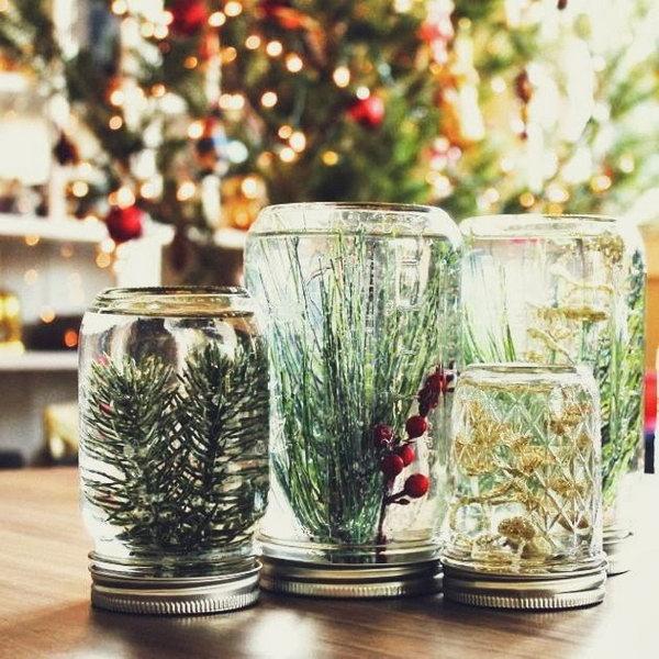 Mason Jar Globes.