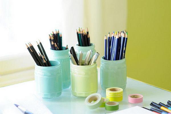 Pastel Pencil Pencil Holders.