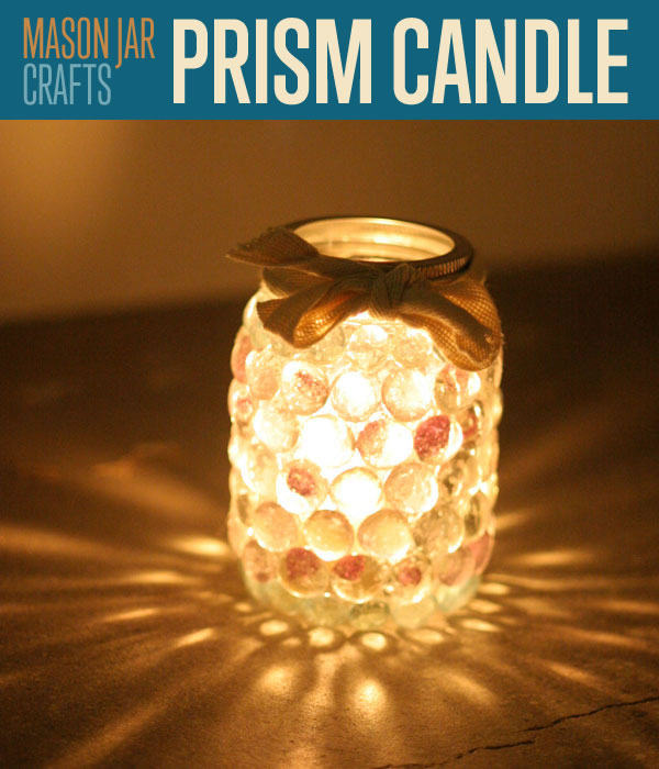 The Prism Mason Jar Light.