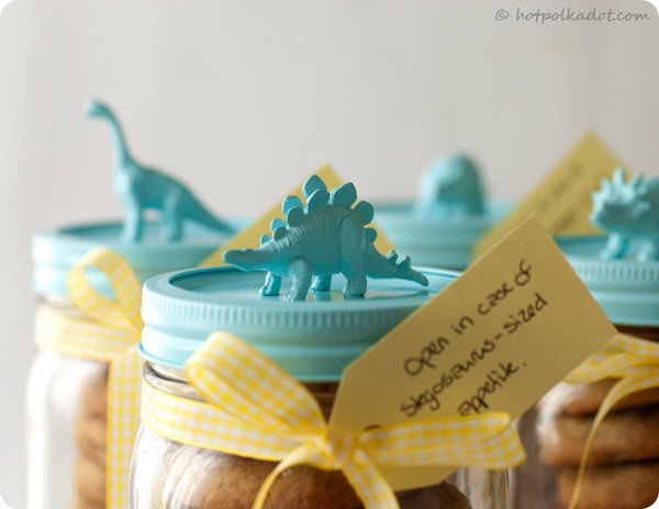 Chocosaurus Rex Cookie Jar.