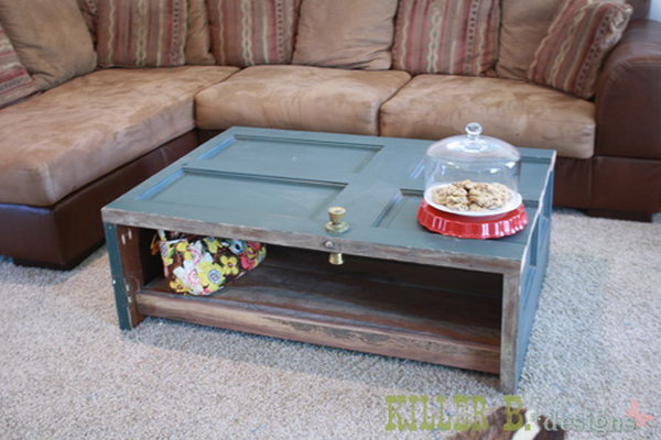 Reclaimed Door Coffee Table. Get directions