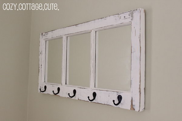 Cozy Cottage Coat Hanger!