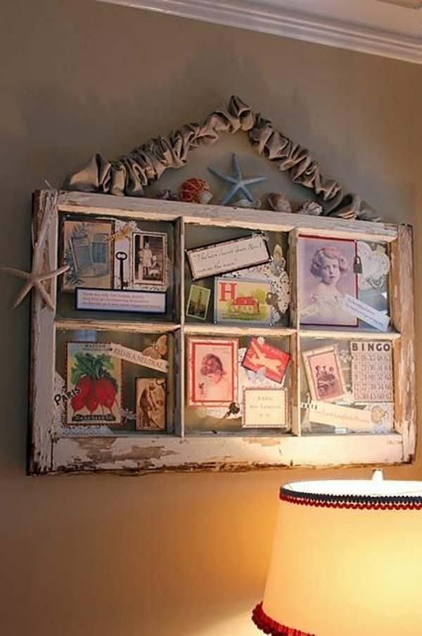 20 Diy Old Window Decoration Ideas Noted List