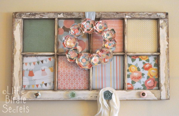 Creatively Altered Window Frame!