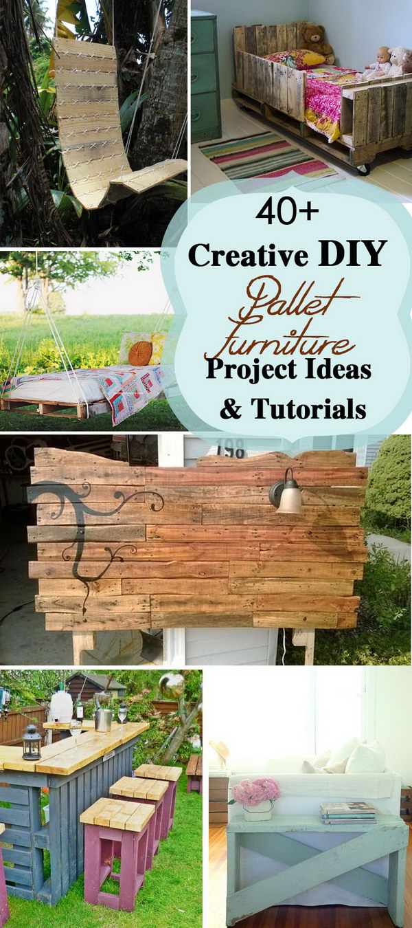 Creative DIY Pallet Furniture Project Ideas and Tutorials!