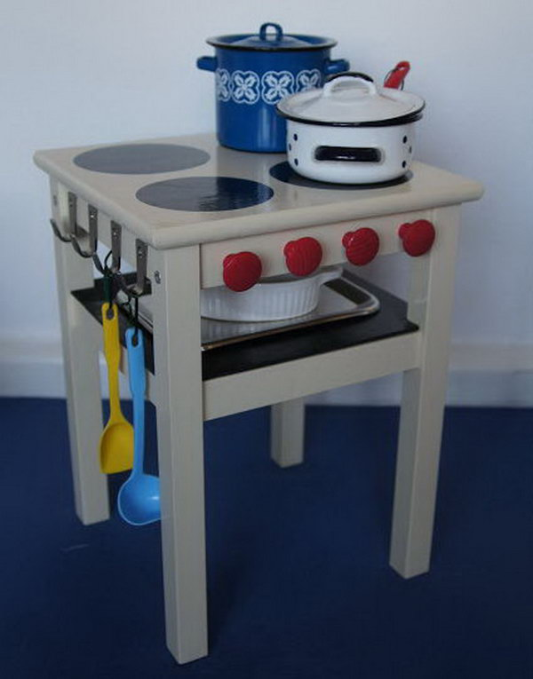 Children Stove with Oven. Get more inspiration