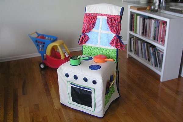 Kids Kitchen Slipcover. See more instructions