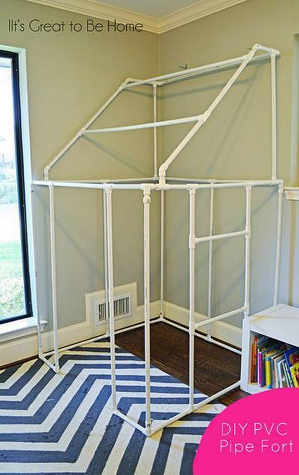 DIY PVC Pipe Fort.