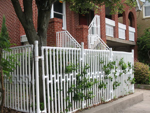PVC Pipe Fencing.