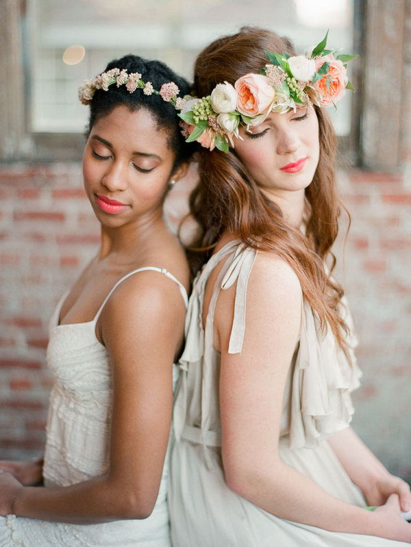 DIY Spring Flower Crown.