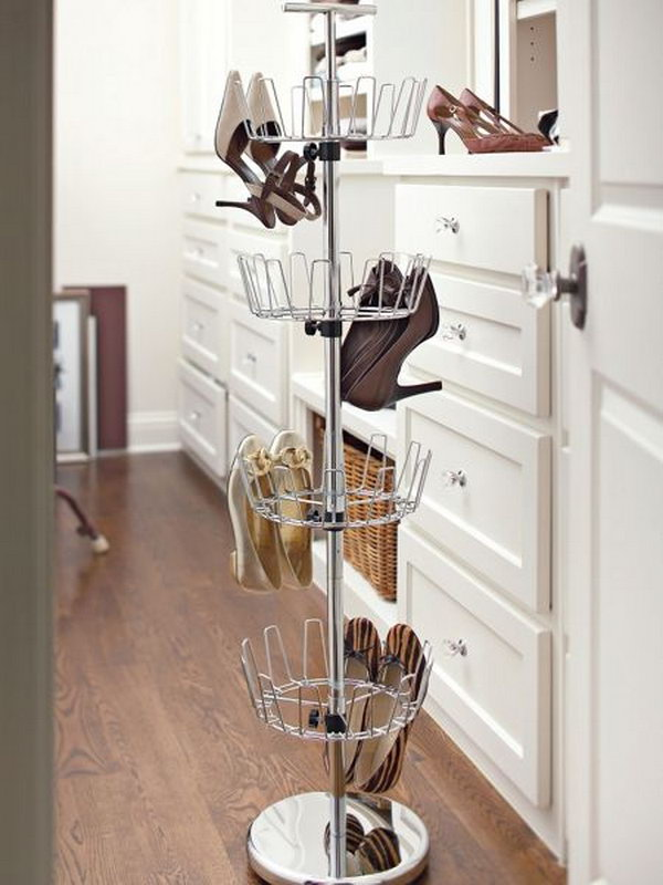 20 great shoe storage ideas noted list - Shoe rack for small spaces image ...
