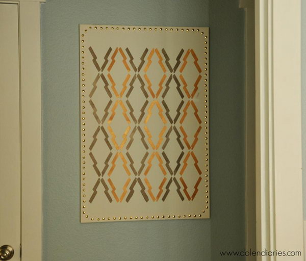 Arrow Print Stenciled Projects