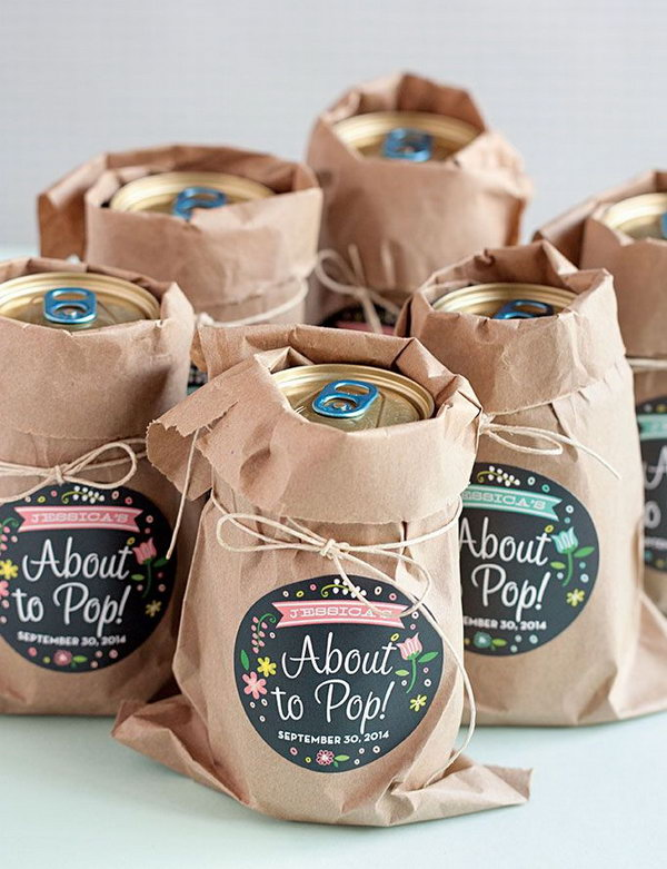 Baby Shower Favor Ideas.