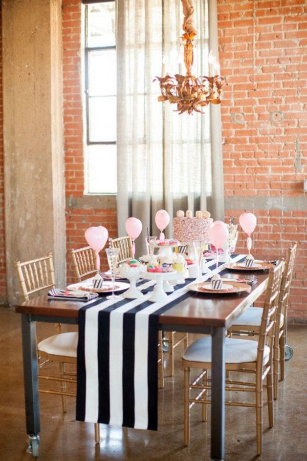 Carnival Inspired Tablescape.