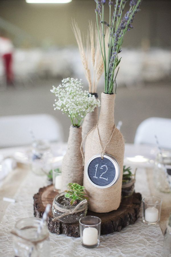 Rustic Weddings Centerpiece.