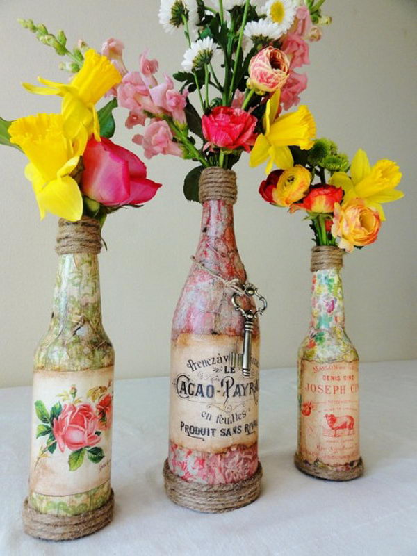Vintage Wedding Centerpiece.