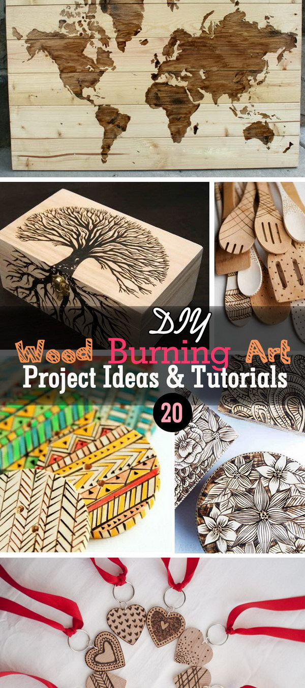 20 Diy Wood Burning Art Project Ideas Tutorials Noted List