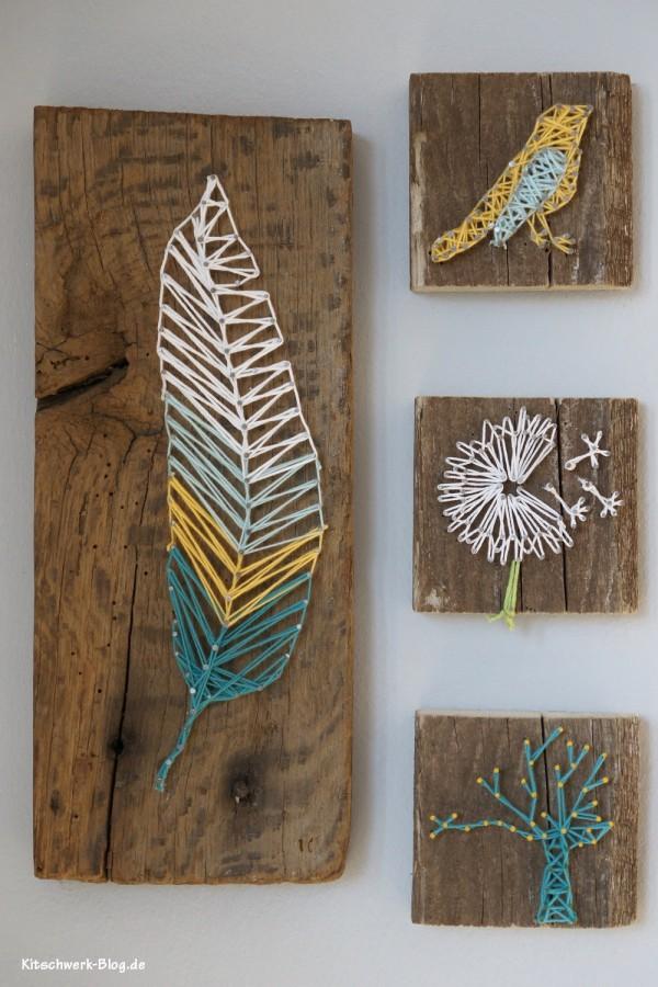 5 diy string art ideas tutorials