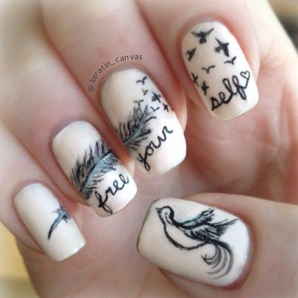 5-feather-nail-art