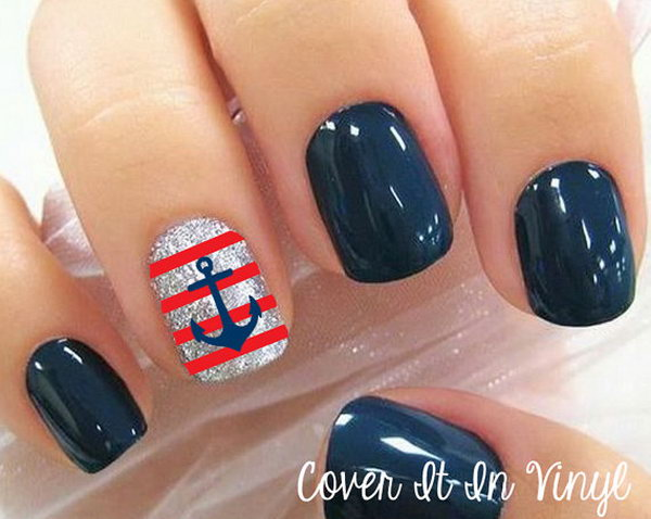 Anchor and Strips Nail.